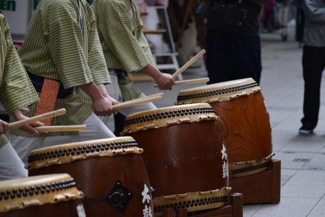 和太鼓の打ち方