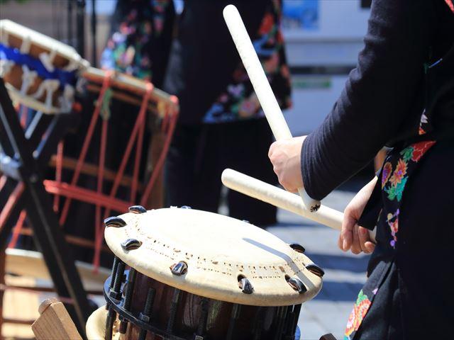 沖縄の和太鼓教室