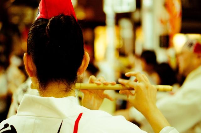 大阪(大阪市)の篠笛教室