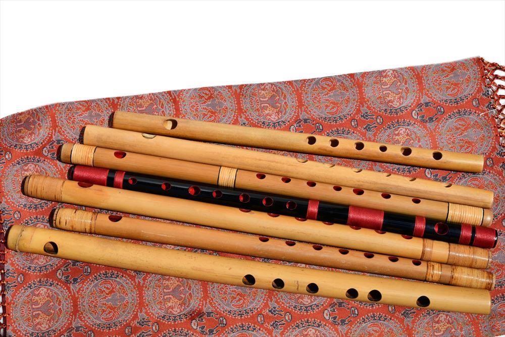 横笛奏者 HIROMASA