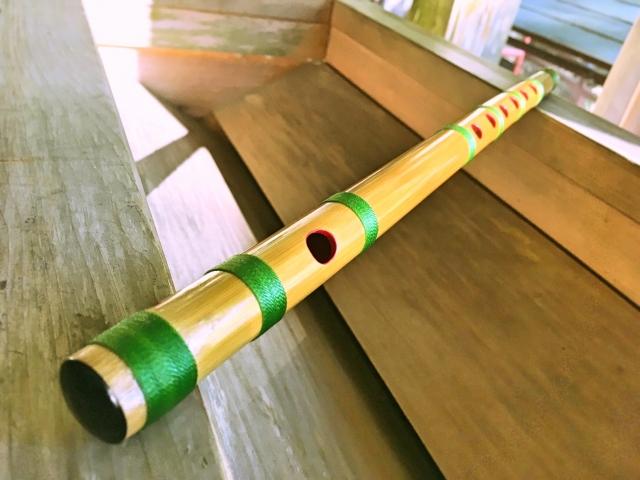 篠笛・能管奏者 大野 利可